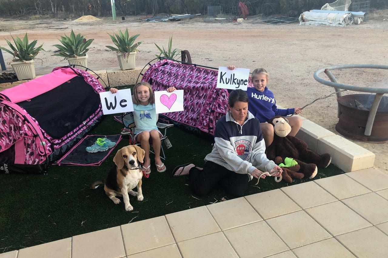 Mel's Backyard Campsite